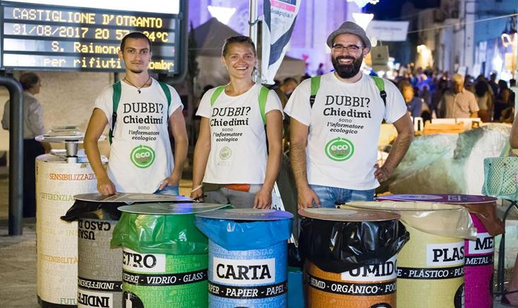 Notte Verde è evento Ecofesta e ad alta sostenibilità ambientale
